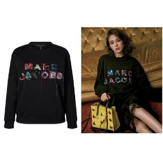 MARC JACOBS - 新品、未使用 MARC JACOBS ロゴ入り スウェット