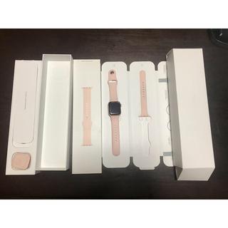 アップルウォッチ(Apple Watch)のApple Watch series4 Cellularモデル(腕時計(デジタル))