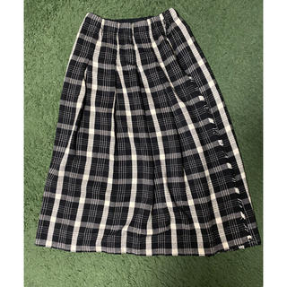 スタディオクリップ(STUDIO CLIP)のstudio clip / チェックタックラップスカート(ロングスカート)