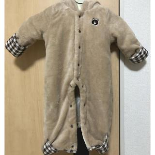ニシマツヤ(西松屋)のくま カバーオール 防寒着(ジャケット/コート)