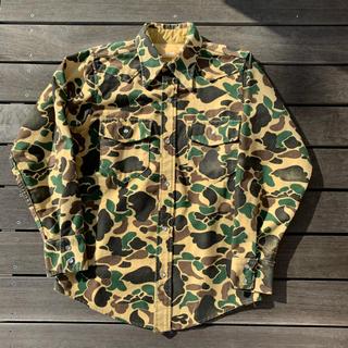 ウールリッチ(WOOLRICH)のDuck Hunter Camo Chamois cloth Shirts(シャツ)