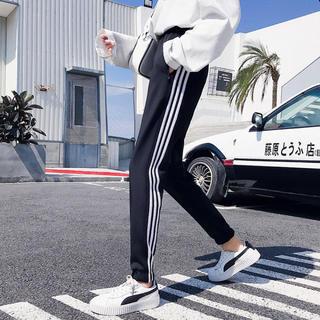 NIKE - adidas風 ラインパンツ スウェット ジャージ 男女兼用