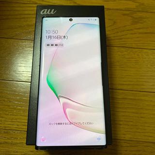 Galaxy - Galaxy note10+ SCV45 オーラブラック 美品