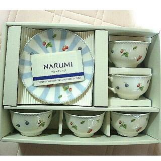 ナルミ(NARUMI)の【未使用】ナルミチャイナ 5客ティー碗皿(グラス/カップ)