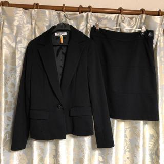 NATURAL BEAUTY BASIC - ナチュラルビューティーベーシック スーツ セットアップ M 黒