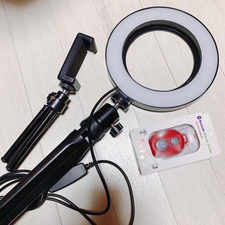 LED 自撮りライト