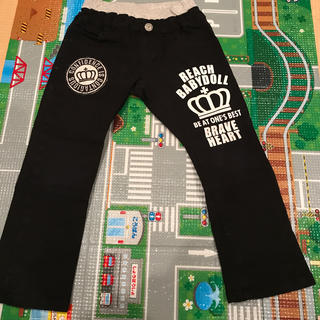 BABYDOLL - 110cm BABYDOLL黒長ズボン