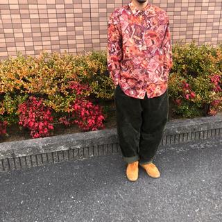 最終値下げ インポートレトロアート 柄シャツ(シャツ)