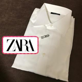 ZARA - ZARA   白 シャツ ※訳あり