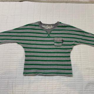 グリーンレーベルリラクシング(green label relaxing)のグリーン レーベル リラクシング 105(S)サイズ ボーダー トレーナー(Tシャツ/カットソー)
