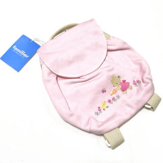 familiar - 【ファミリア】新品☆ ベビー リュック ピンク 女の子