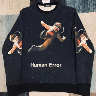 アンダーカバー(UNDERCOVER)のアンダーカバー 18aw Human Errorスウェット(スウェット)