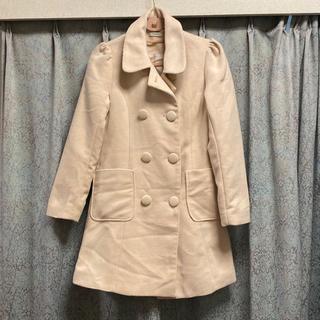 ティティアンドコー(titty&co)の 美品♡ ティティアンドコー コート アイボリー オフホワイト 冬(ロングコート)