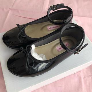 ミキハウス(mikihouse)のmikihouse ストラップ付き フォーマル靴 フラット 17cm(フォーマルシューズ)