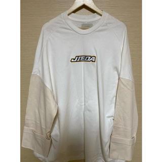 ジエダ(Jieda)のjieda ロゴTシャツ(Tシャツ/カットソー(七分/長袖))