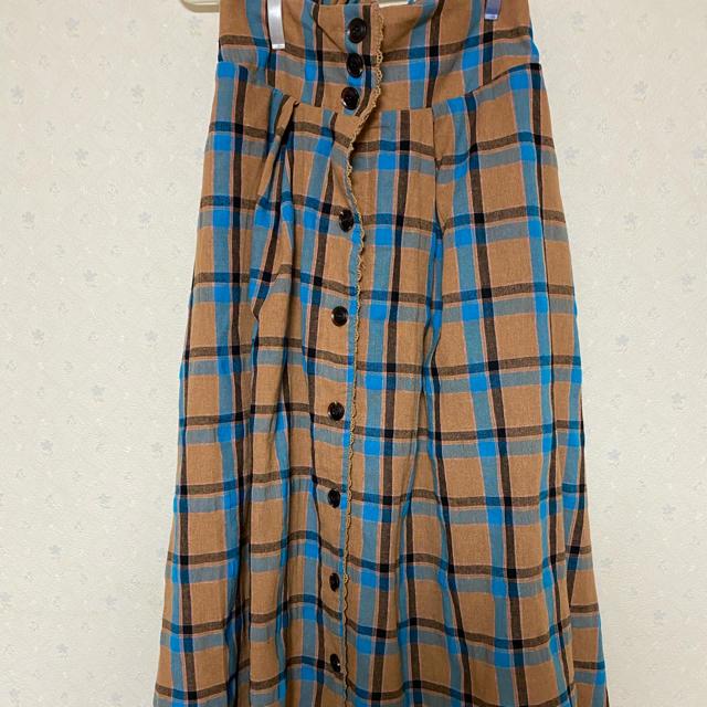 axes femme(アクシーズファム)のhotwater様専用 チェックスカート レディースのスカート(ロングスカート)の商品写真