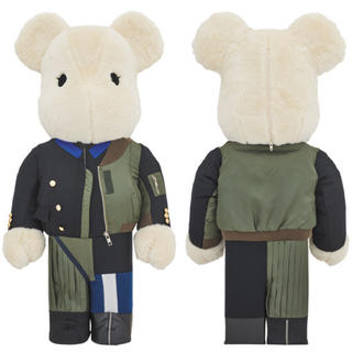 MEDICOM TOY - BE@RBRICK sacai 2018AW 1000% ベアブリック