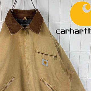 carhartt - Carhartt カーハート カバーオール ジャケット ダック生地 胸ロゴ 古着