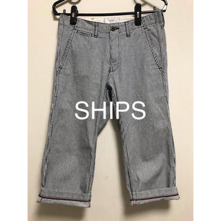 SHIPS - SHIPS ストライプパンツ  42