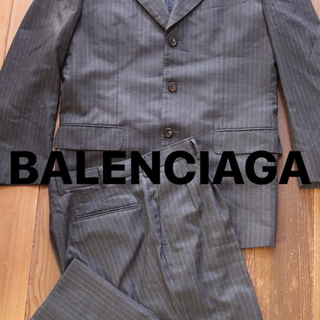 Balenciaga - BALENCIAGA セットアップ ストライプ