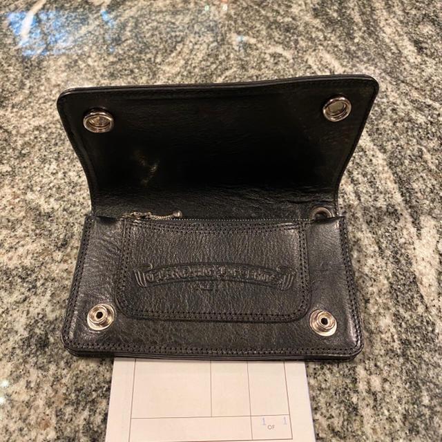 Chrome Hearts(クロムハーツ)の新品未使用 CHROME HEARTS 1ZIPウォレット インボイス原本付属 メンズのファッション小物(折り財布)の商品写真