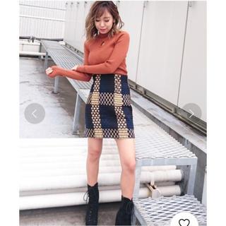 スパイラルガール(SPIRAL GIRL)のチェック柄スカート (ミニスカート)