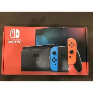 任天堂 - Nintendo Switch 本体 Joy-Con(L) ネオンブルー/(R)