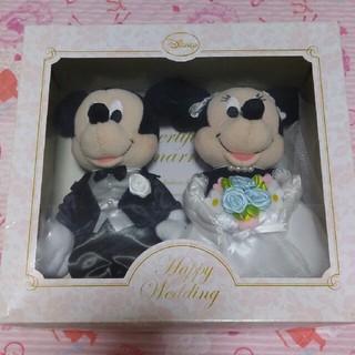 Disney - ミッキー&ミニー ウエディングぬいぐるみ