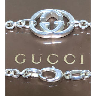 Gucci - GUCCI グッチ 正規品 インターロッキング ネックレス 中古 美品 送料無料