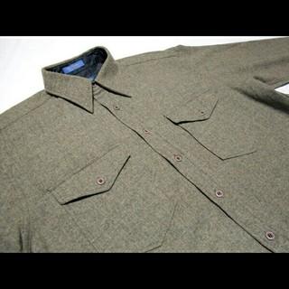 ペンドルトン(PENDLETON)の美品 PENDLETON OUTDOORSMAN ペンドルトン ウール100%(シャツ)