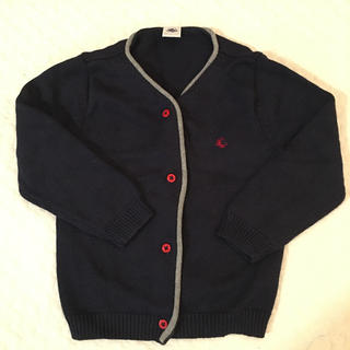 プチバトー(PETIT BATEAU)の美品 プチバトー ガーディガン 36M 95cm(Tシャツ/カットソー)