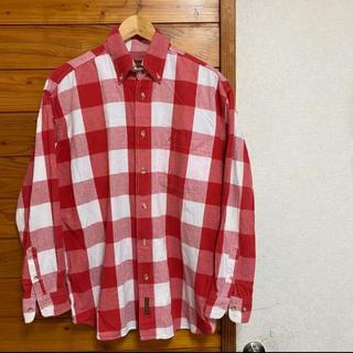 ティンバーランド(Timberland)のTimberland メンズ チェックシャツ 長袖 綿シャツ(シャツ)