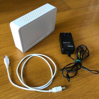 アイオーデータ(IODATA)のI-O DATA 外付けHDD  外付けハードディスク HDCS-U1.0 R2(PC周辺機器)