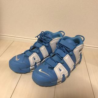 ナイキ(NIKE)の【レア】 Nike モアテン水色 AIR MORE UPTEMPO 96(スニーカー)