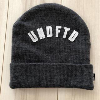 アンディフィーテッド(UNDEFEATED)のUNDEFEATED ニット帽(ニット帽/ビーニー)