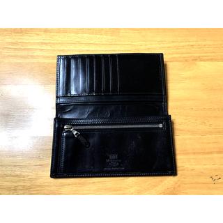 ホワイトハウスコックス(WHITEHOUSE COX)のホワイトハウスコックス ブライドルレザー 長財布 ブラック リリジッパー(長財布)