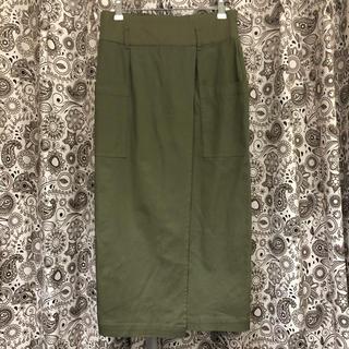 ダブルクローゼット(w closet)のロングタイトスカート(ロングスカート)