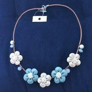 お花 ネックレス(ネックレス)