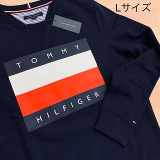TOMMY HILFIGER - 大人気★Tommy Hilfiger復刻版クラシックビッグロゴプリントトレーナー