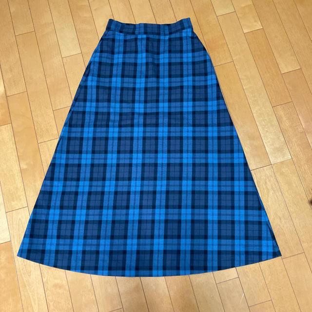 LEPSIM(レプシィム)のレプシムチェックロングスカート レディースのスカート(ロングスカート)の商品写真