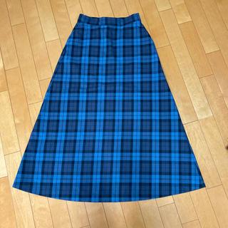 LEPSIM - レプシムチェックロングスカート