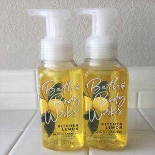 Bath & Body Works - バスアンドボディワークス 泡タイプ ハンドソープ レモン 2本 セット