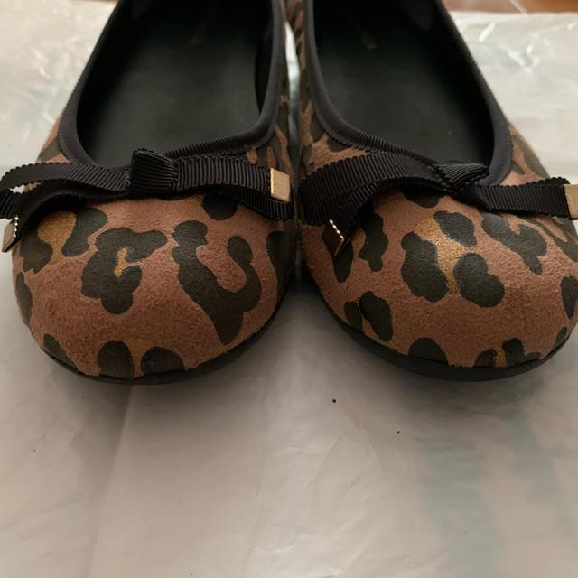 ESPERANZA(エスペランサ)のESPERANZA ❤︎ レオパード パンプス 22.5cm レディースの靴/シューズ(バレエシューズ)の商品写真