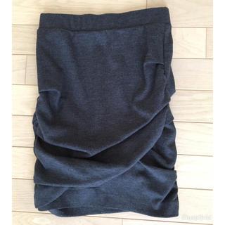 ジャスグリッティー(JUSGLITTY)のシャーリングタイトスカート(ひざ丈スカート)