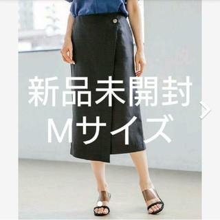 apart by lowrys - 【値下げしました】apart by lowrys Pボタンラップタイトスカート