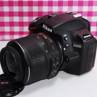 Nikon - ★思い出たくさん★2416万画素で高画質★Nikon D3200 レンズキット