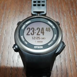 エプソン(EPSON)のエプソン パルセンス PS-600B 脈拍計測機能付 活量計(腕時計(デジタル))