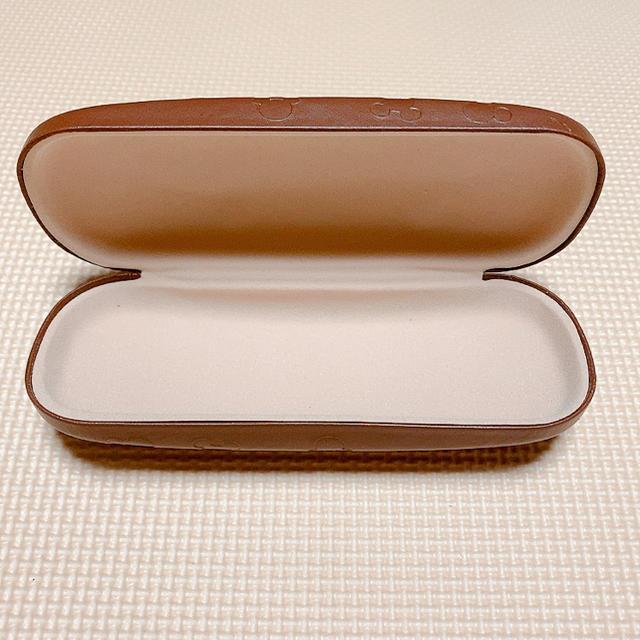 ミッキーマウス(ミッキーマウス)のメガネケース ミッキー ⋆⸜ 茶 ⸝⋆ レディースのファッション小物(サングラス/メガネ)の商品写真