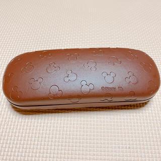 ミッキーマウス(ミッキーマウス)のメガネケース ミッキー ⋆⸜ 茶 ⸝⋆(サングラス/メガネ)