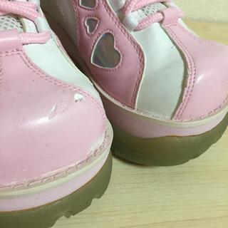 WEGO(ウィゴー)のウィゴー 厚底靴 レディースの靴/シューズ(スニーカー)